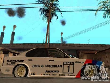 BMW E34 M5 - DTM para la visión correcta GTA San Andreas