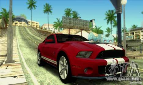 SA_gline v2.0 para GTA San Andreas sexta pantalla