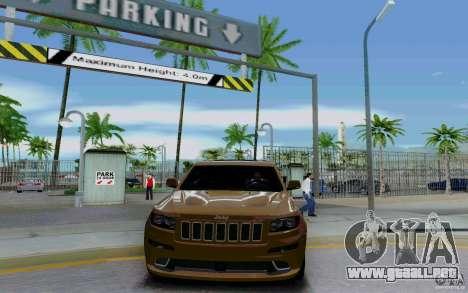Parking (de pago) para GTA San Andreas sucesivamente de pantalla
