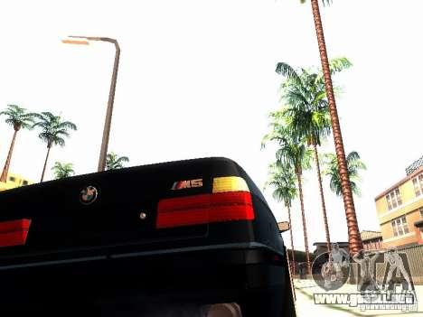 BMW 535i E34 para visión interna GTA San Andreas