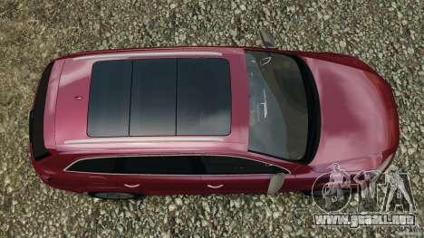 Audi Q7 V12 TDI v1.1 para GTA 4 visión correcta