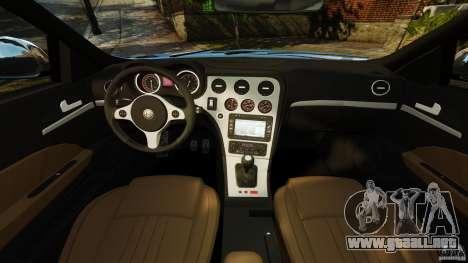Alfa Romeo 159 TI V6 JTS para GTA 4 vista hacia atrás