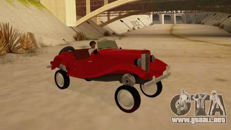 MG Augest para vista lateral GTA San Andreas