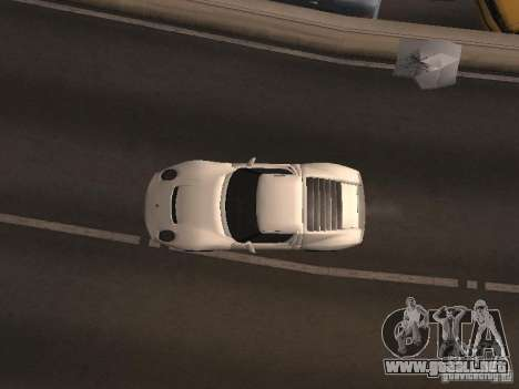 Lamborghini Miura LP670 para GTA San Andreas vista hacia atrás