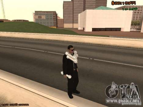 Gray weapons pack para GTA San Andreas octavo de pantalla