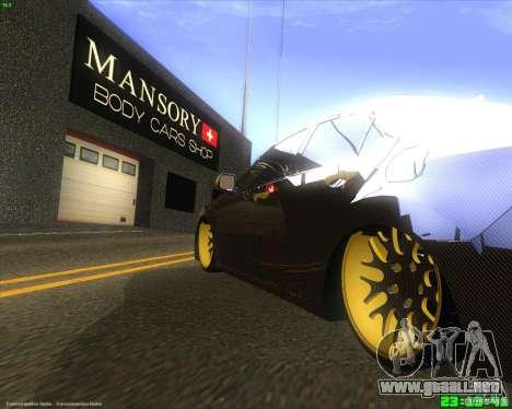 Honda Accord Mansory para la visión correcta GTA San Andreas