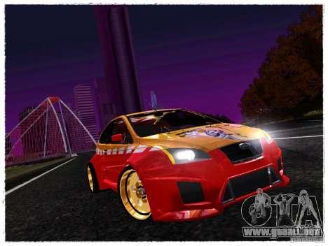 Ford Focus ST Calibri-Ace para GTA San Andreas left