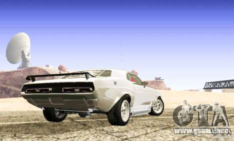 Dodge Charger 1969 SpeedHunters para GTA San Andreas left