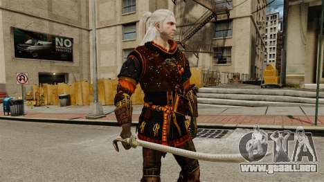 Espada del brujo v2 para GTA 4