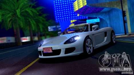 SA Beautiful Realistic Graphics 1.6 para GTA San Andreas sucesivamente de pantalla