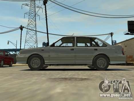FSO Polonez Atu para GTA 4 vista hacia atrás