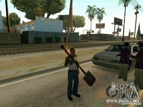 Lopatomët para GTA San Andreas séptima pantalla