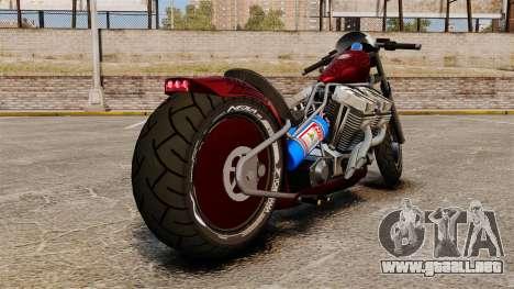 Dragbike Street Racer para GTA 4 Vista posterior izquierda