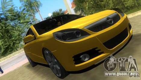 Opel Vectra para GTA Vice City vista lateral izquierdo