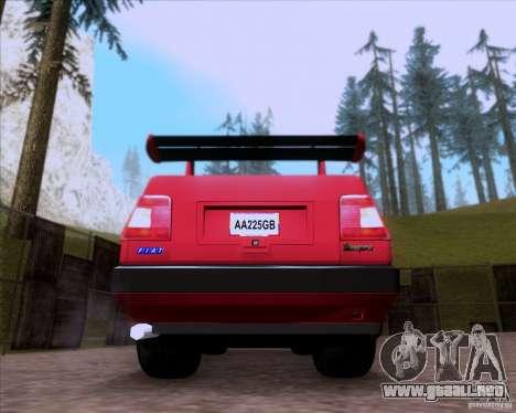 Fiat Tempra 1998 Tuning para GTA San Andreas vista hacia atrás