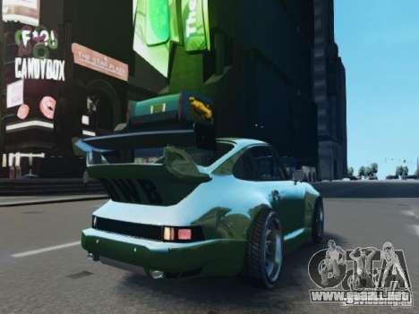 Porsche 911 Turbo RWB Pandora One Beta para GTA 4 vista hacia atrás