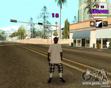 Ballas by R.Cruger para GTA San Andreas segunda pantalla