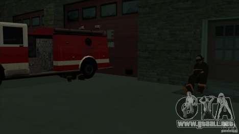Estación de fuego de avivamiento en San Fierro v para GTA San Andreas sexta pantalla