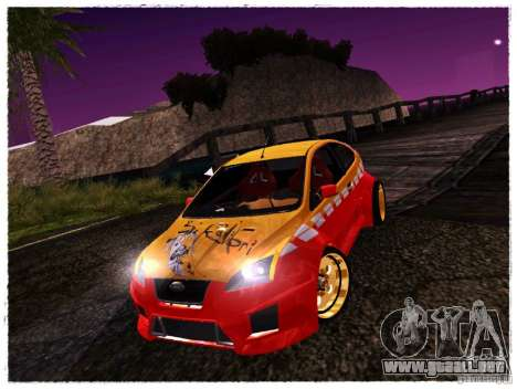 Ford Focus ST Calibri-Ace para GTA San Andreas