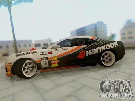 Chevrolet Camaro Hankook Tire para la visión correcta GTA San Andreas