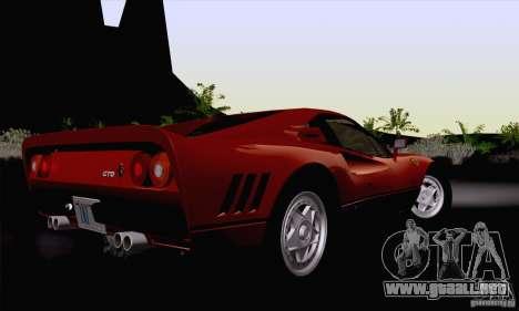 Ferrari 288 GTO 1984 para GTA San Andreas left