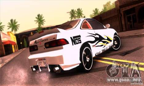 Honda Integra Tunable para la vista superior GTA San Andreas