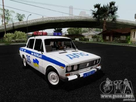 Policía 2106 VAZ para GTA San Andreas