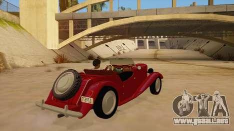 MG Augest para la visión correcta GTA San Andreas