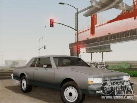 Chevrolet Caprice 1986 para las ruedas de GTA San Andreas