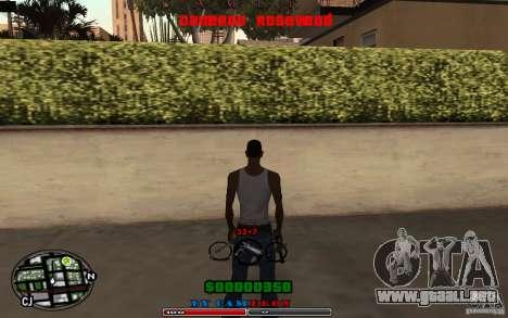 Cleo HUD by Cameron Rosewood V1.0 para GTA San Andreas
