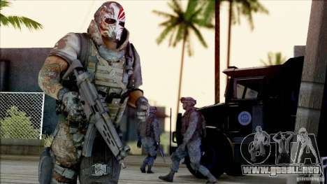 Army Of Two - Devils Cartel para GTA San Andreas segunda pantalla
