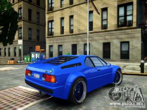 BMW M1 Replica para GTA 4 left