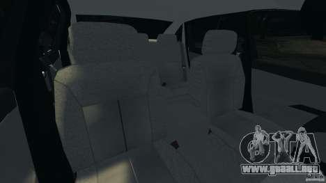Chevrolet Impala Unmarked Detective [ELS] para GTA 4 vista interior