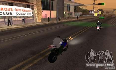 No wanted v1 para GTA San Andreas tercera pantalla
