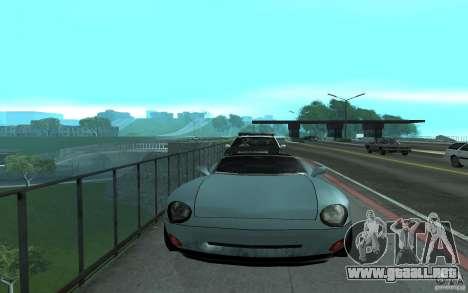 Policía en el puente, San Fierro para GTA San Andreas tercera pantalla