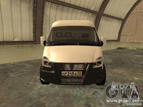 GAZ 2752 Sobol negocios para la visión correcta GTA San Andreas