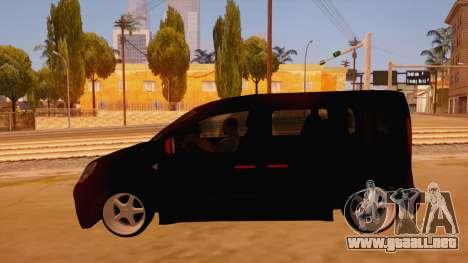 Renault Kangoo para GTA San Andreas left