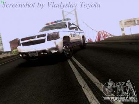Chevrolet Avalanche 2007 para GTA San Andreas