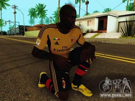 Mario Balotelli v3 para GTA San Andreas quinta pantalla