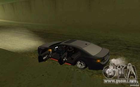 Honda Accord para la vista superior GTA San Andreas