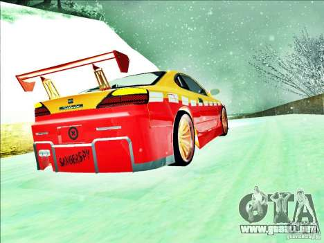 Nissan Silvia S15 Calibri-Ace para visión interna GTA San Andreas