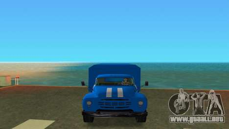 ZIL 130 para GTA Vice City visión correcta