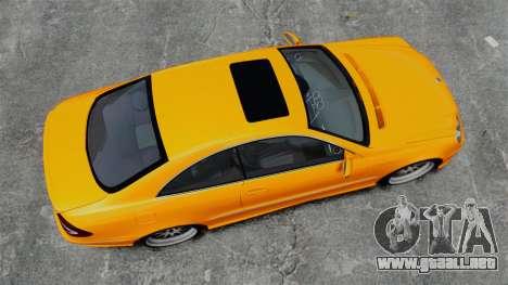 Mercedes-Benz CLK 55 AMG para GTA 4 visión correcta