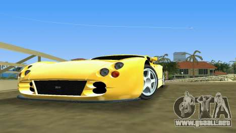 TVR Cerbera Speed 12 para GTA Vice City left