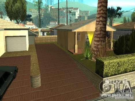 Parking Save Garages para GTA San Andreas segunda pantalla