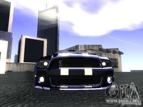 Ford Mustang Shelby GT500 para la visión correcta GTA San Andreas
