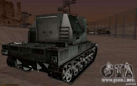 Bat. Chat. 155 SPG para GTA San Andreas left