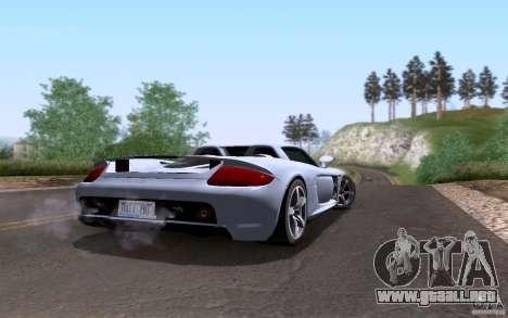 Porsche Carrera GT para el motor de GTA San Andreas