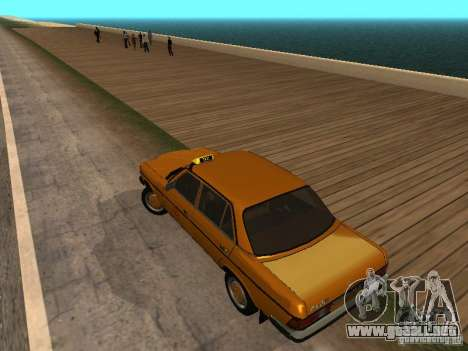 Mercedes-Benz 240D Taxi para GTA San Andreas left
