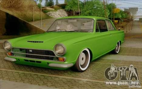 Lotus Cortina MK1 para GTA San Andreas
